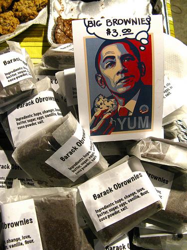 Barack Obrownies
