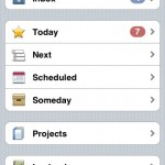 Things for iPhone (the Logbook in action)