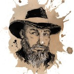 Warren Ellis sketch (credit to The Paris Review)