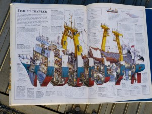 Fishing Trawler from Incredible Cross-Sections