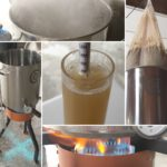 a brew day collage