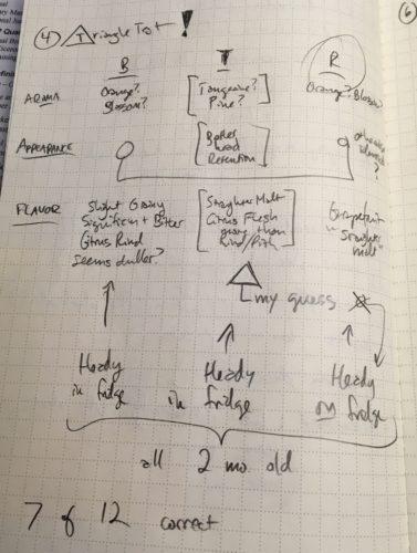 Triangle Test Notes (Erin, you sadist)