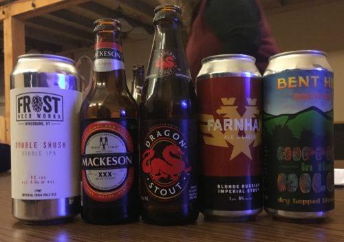 2/15/2018 BJCP study group bonus beers