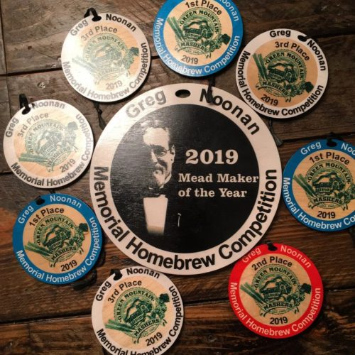 My medals for the 2019 Greg Noonan Memorial Homebrew Competition